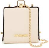 Love Moschino Jeweled Boxy Clutch
