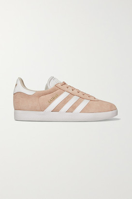 adidas Gazelle Suede And Leather Sneakers - Pastel pink