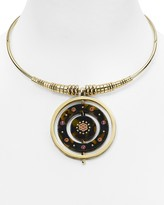 Kate Spade Medallion Pendant Collar Necklace