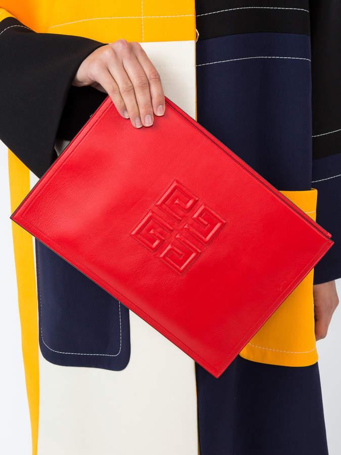 Givenchy Emblem large pouch