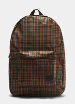 Marni X Porter Patterned Backpack in Green, Orange, Brown and Black