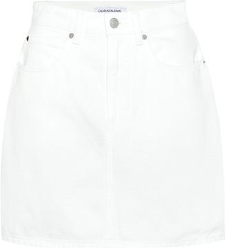 Calvin Klein Jeans Denim miniskirt