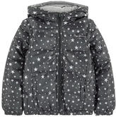 Pepe Jeans Reversible printed padded coat