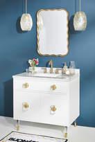 Lacquered Regency Single Bathroom Vanity