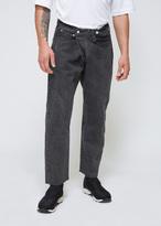 SASQUATCHfabrix. Black Tapered Denim Jeans