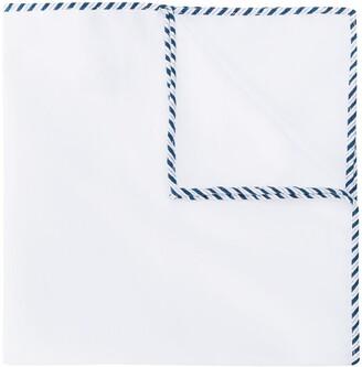 Brunello Cucinelli Border-Stitch Pocket Square