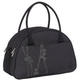 Lassig Casual Shoulder Diaper Bag, Ribbon Black by