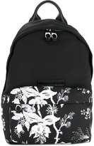 McQ floral print backpack