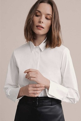 Witchery OCRF Cotton White Shirt