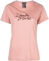 Ann Demeulemeester Love You print T-shirt