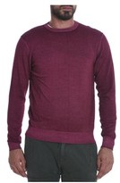 Sun 68 Men's Purple Wool Sweater.