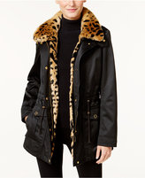 INC International Concepts 3-in-1 Faux-Fur-Trim Anorak Jacket, Only at Macy's