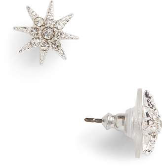 Ralph Lauren Pave Star Stud Earrings