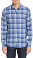 Zachary Prell Men's Kerner Plaid Sport Shirt