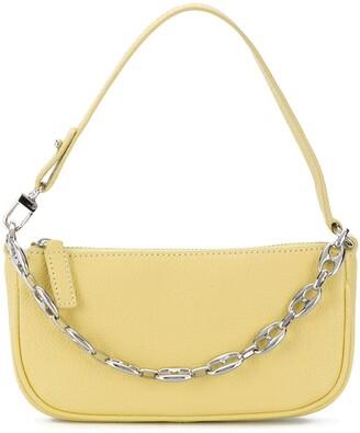 BY FAR mini Rachel chain detail bag