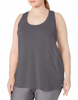 Amazon Essentials Women's Plus Size Tech Stretch Racerback Tank Top