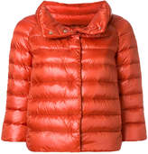 Herno cropped puffer jacket