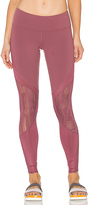 Alo Vitality Legging in Burgundy. - size L (also in M)
