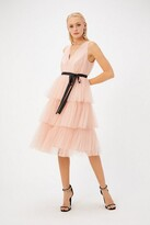 Thumbnail for your product : Coast Tulle Midi Dress