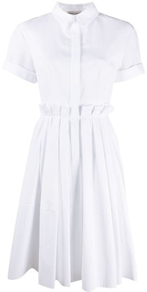 Alexander McQueen Short-Sleeved Shirt Dress