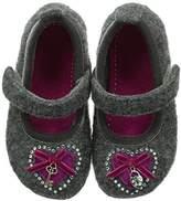 Living Kitzbühel Ballerina Heart And Key, Girls Slippers, 2 Child UK