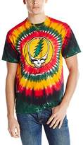 Liquid Blue Men's Grateful Dead-Rasta SYF T-Shirt