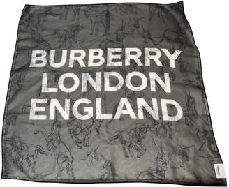 Burberry Black Silk Scarves
