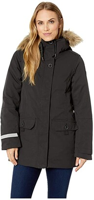 Helly Hansen Svalbard 2 Parka (Black) Women's Coat