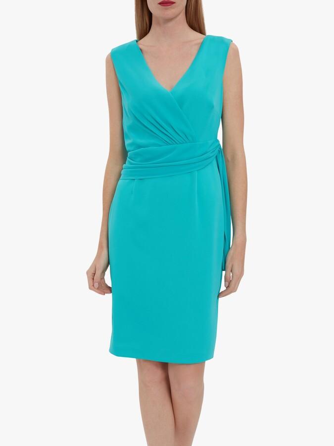 Gina Bacconi Drucilla Wrap Waist Dress
