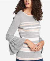 Tommy Hilfiger Peplum-Sleeve Sweater, Created for Macy's, Created for Macy's