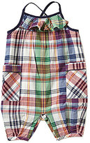 Ralph Lauren Baby Girls 3-24 Months Madras-Plaid Romper
