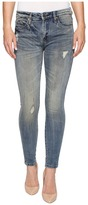 Blank NYC Denim Mid-Rise Distressed Skinny in Game Over