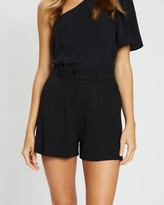 Miss Selfridge Tux Shorts