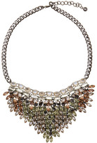 BaubleBar Jungle Collar - Orange/Yellow