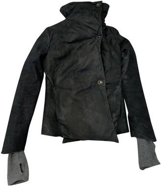 Isaac Sellam Navy Wool Coat for Women