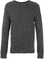 Etro ribbed trim jumper - men - Nylon/Wool/Alpaca - M