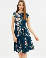 Wallis Fit-and-Flare Dress