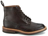 Tricker's Knutsford by Men's Stow Leather Brogue Boots Dark Brown