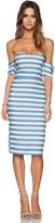 Line & Dot Inez Strapless Dress