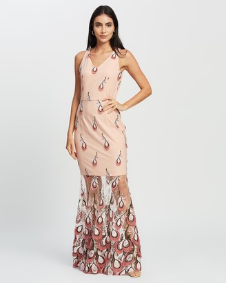 Romance by Honey and Beau - Women's Pink Maxi dresses - Chantel Maxi - Size One Size, 10 at The Iconic