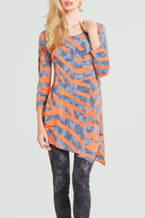 Clara Sunwoo Zebra Print Tunic