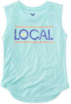 Roxy Live Local Graphic-Print Tank Top, Toddler & Little Girls (2T-6X)