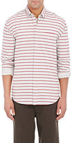 Barneys New York MEN'S STRIPED SHIRT
