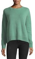 Vince Boxy Crewneck Cashmere Sweater