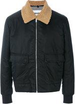 MSGM flap pockets zipped jacket - men - Polyamide/Polyester/Polyurethane/Acetate - 46