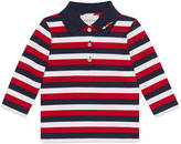 Gucci Baby striped polo with heart
