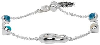 Gucci Silver GG Flower Bracelet