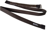 Max Mara Cotton Belt Embellished With Crystals