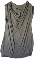 BCBGMAXAZRIA Grey Viscose Top