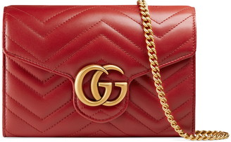 Gucci Matelasse Leather Wallet on a Chain